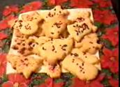 Easy Festive Shortbread Cookie